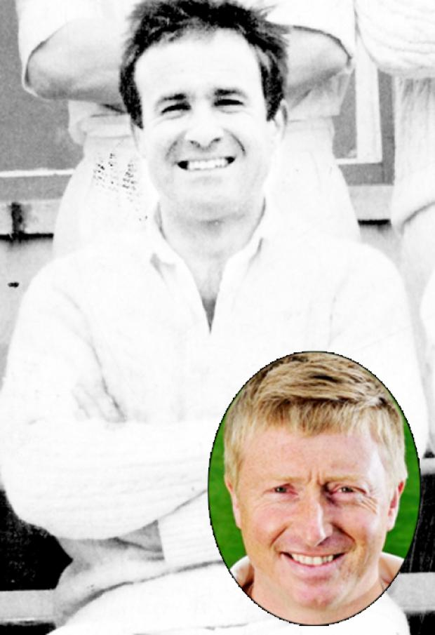 Burnley and Pendle Citizen: Colin Madden and (inset) Lancashire captain Glen Chapple