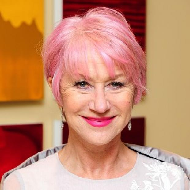 Dame Helen Mirren dyed her pink because she thought it looked cool