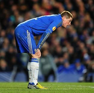 Fernando Torres had a disappointing night as Chelsea lost 1-0