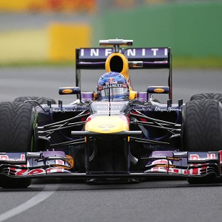 Sebastian Vettel scorched to pole position at Melbourne (AP)