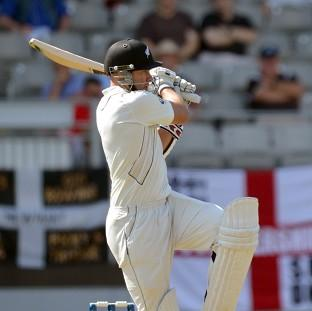 New Zealand's Peter Fulton bats during day one of the Third Test match at Eden Park, Auckland