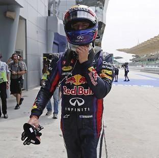 Mark Webber was fastest in the first practice session for the Malaysian Grand Prix (AP)