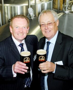 Burnley brewery Moorhouse's celebrates breaking the five million pints mark