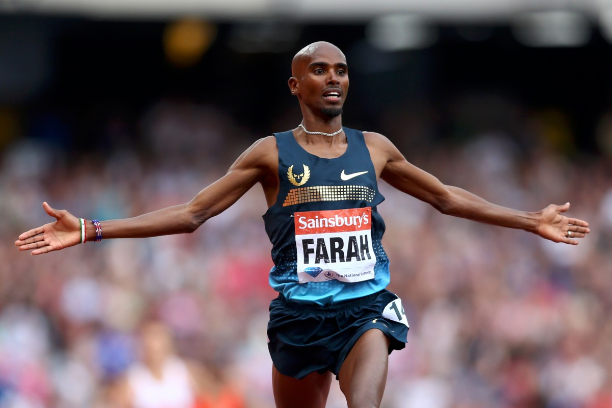 Mo Farah races ahead with school help in Somalia