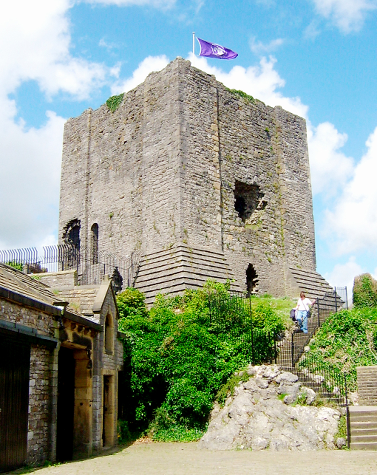 Clitheroe Castle is included in the scheme