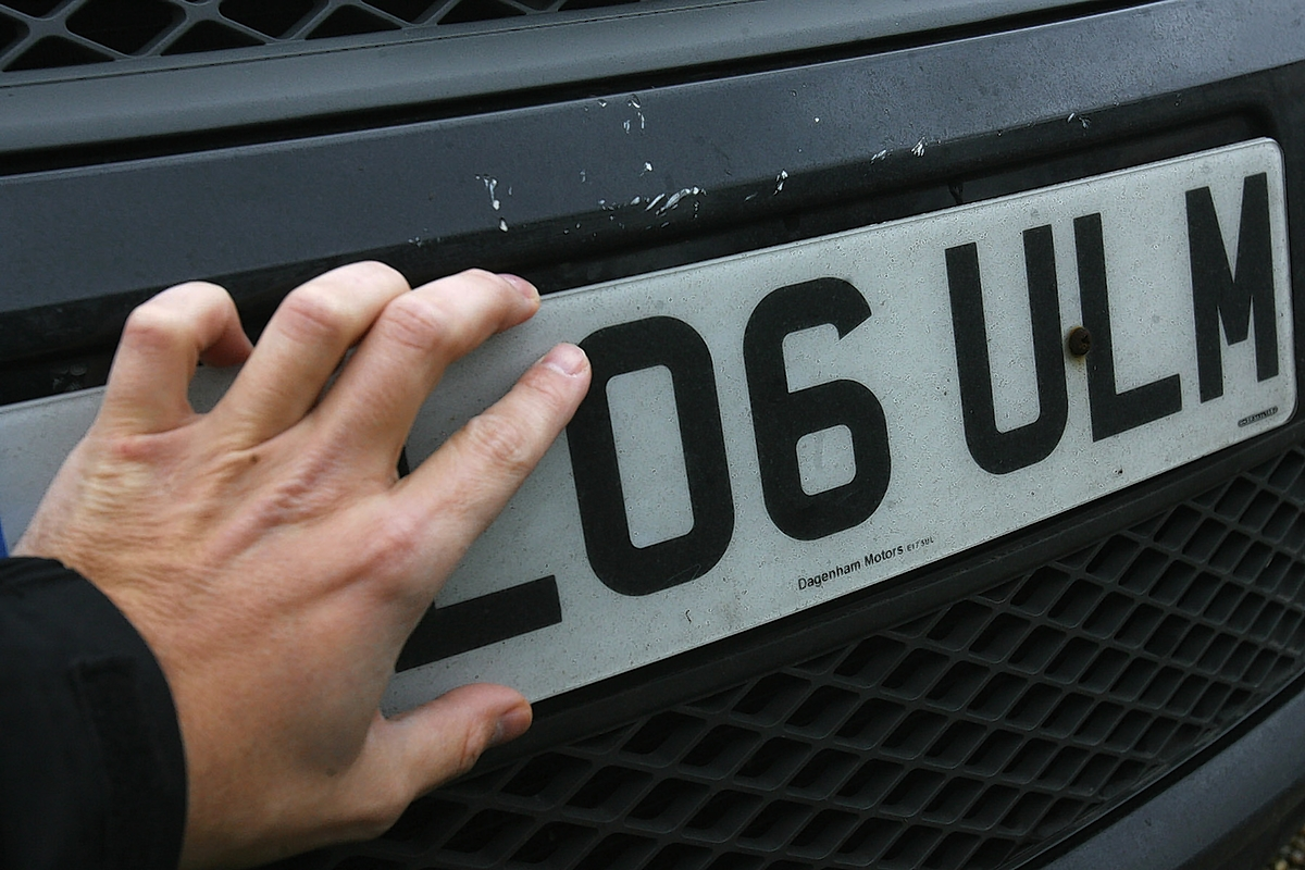 Padiahm mechanic supplied false number plate for car