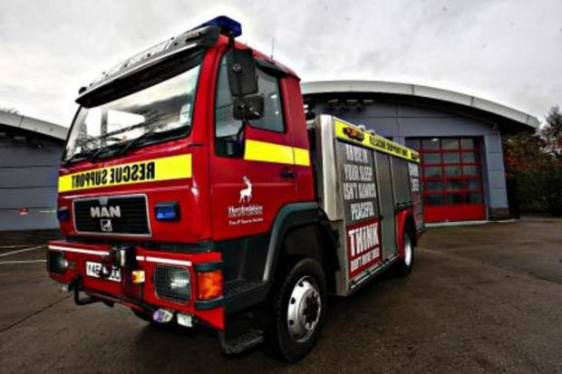 East Lancs firefighters join national strike over pensions
