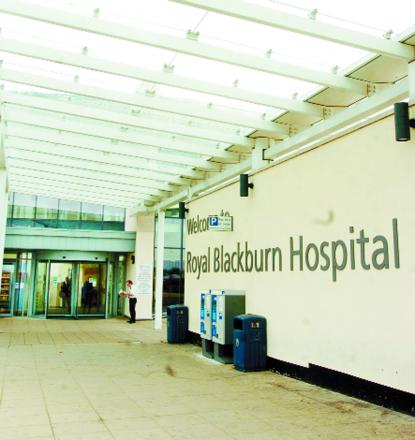The accident and emergency ward at Royal Blackburn Hospital is the busiest in the north west