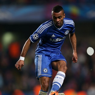 Ashley Cole is unlikely to start for Chelsea against Arsenal on Monday night