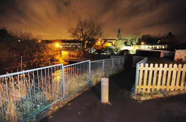 Burnley and Pendle Citizen: Crime scene investigators were scouring the scene for clues yesterday