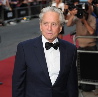 Michael Douglas did not enjoy his rollercoaster ride for Last Vegas