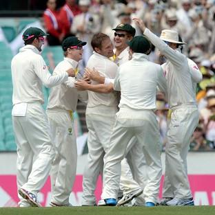 Burnley and Pendle Citizen: Australia dismissed England for just 155 in their first innings