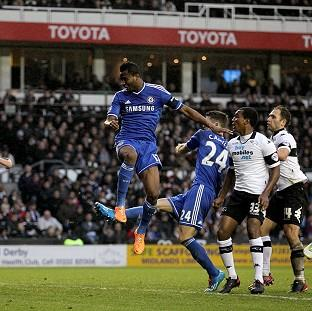 Burnley and Pendle Citizen: John Obi Mikel heads in Chelsea's opener