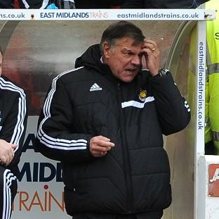 Burnley and Pendle Citizen: Sam Allardyce feels he has to start getting results