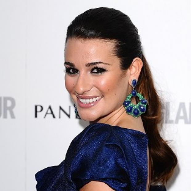Burnley and Pendle Citizen: Lea Michele is feeling good after her holiday