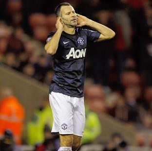 Ryan Giggs and his Manchester United team-mates endured a frustrating evening at the Stadium of Light