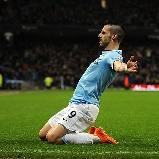 Alvaro Negredo scored a hat-trick