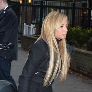 Burnley and Pendle Citizen: Former X Factor judge Tulisa Contostavlos arrives at Southwark Crown Court