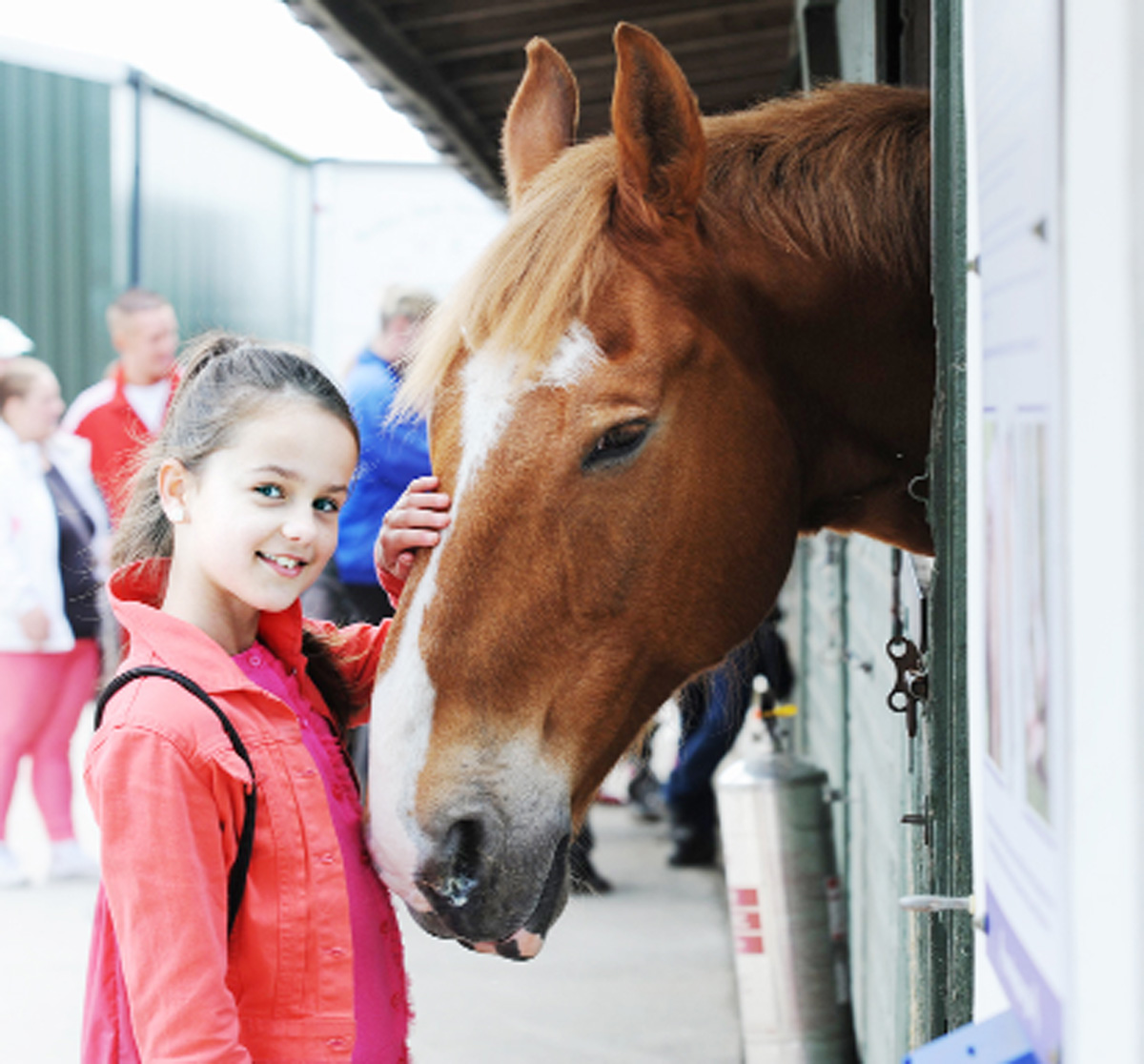 Briercliffe equine charity HAPPA trots out extension plans