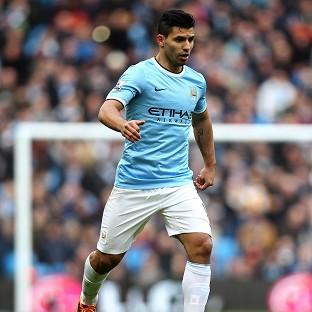 Sergio Aguero is closing in on a return to action