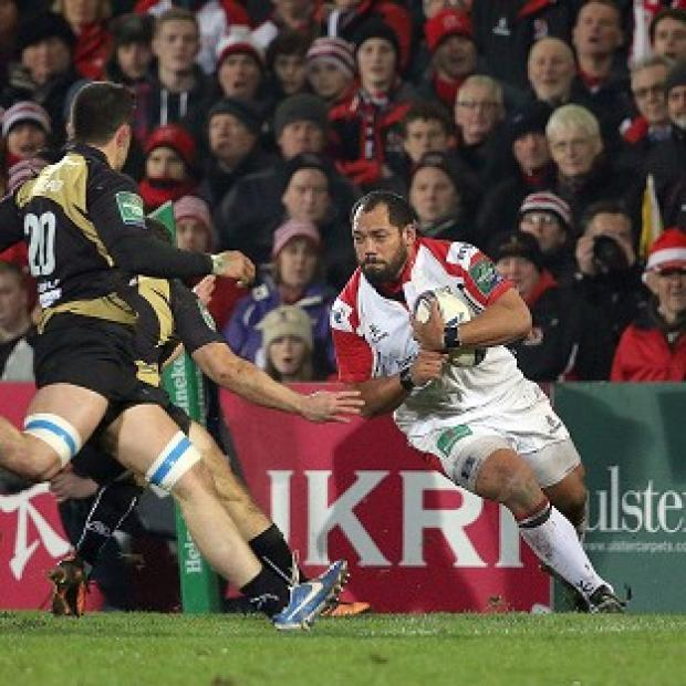 Burnley and Pendle Citizen: John Afoa scored a try for Ulster