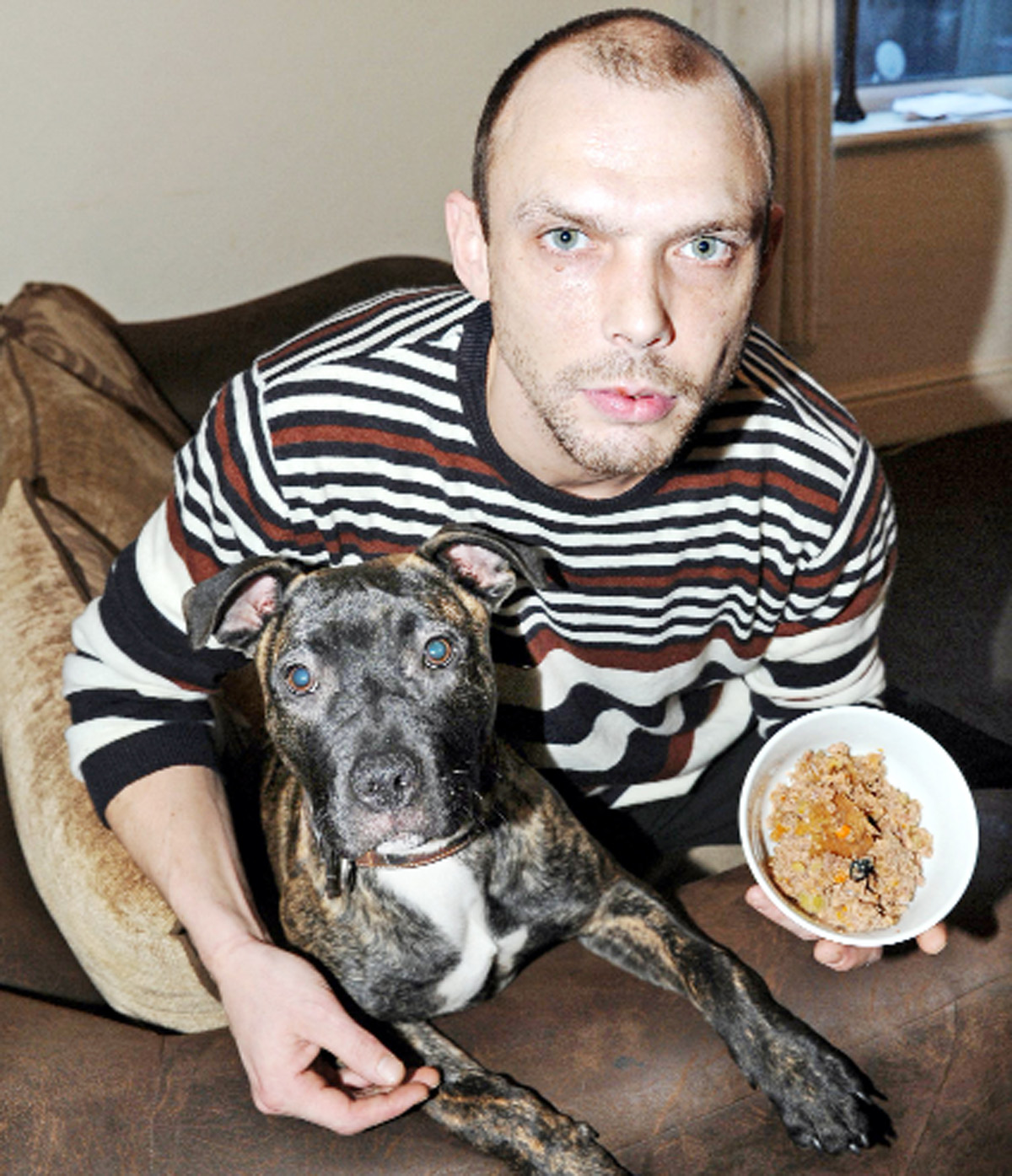 Burnley dog owner found plastic in tin of dog food