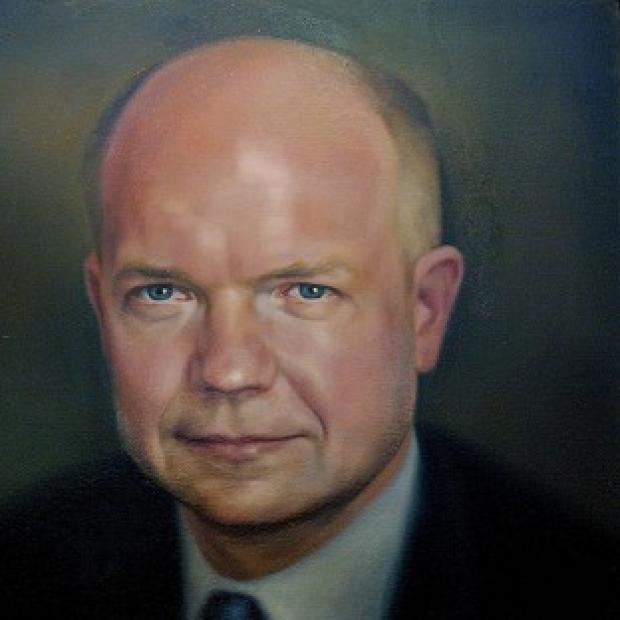 Burnley and Pendle Citizen: William Hague's portrait cost �4,000 to commission