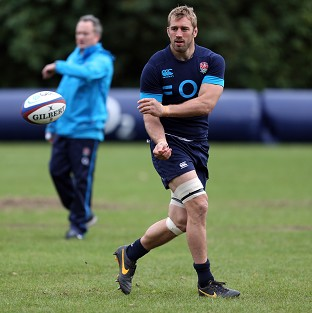 Chris Robshaw will lead England in the Six Nations