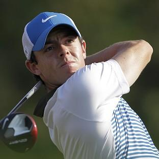 Rory McIlroy carded a second-round 67 (AP)