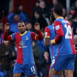 Jason Puncheon, left, scored Palace's winner