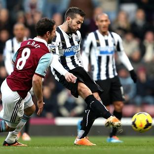 Burnley and Pendle Citizen: Yohan Cabaye scored a brace in Newcastle's victory over West Ham