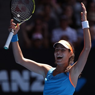 Ana Ivanovic stunned Serena Williams in the fourth round of the Australian Open (AP)