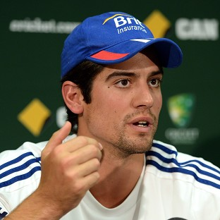 Alastair Cook is pondering his future as England captain