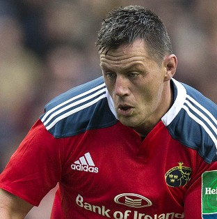 James Coughlan was man of the match for Munster