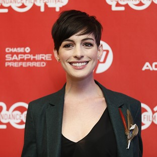 Anne Hathaway's new film, Song One, premiered at the Sundance Film Festival