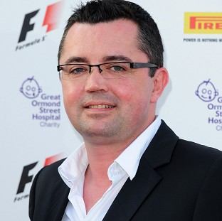 Eric Boullier, pictured, is expected to replace Martin Whitmarsh as team principal at McLaren