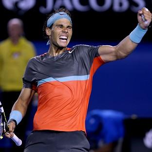 Rafael Nadal will play in his th