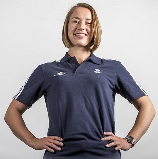 Lizzy Yarnold finished joint-ninth to secure the World Cup title