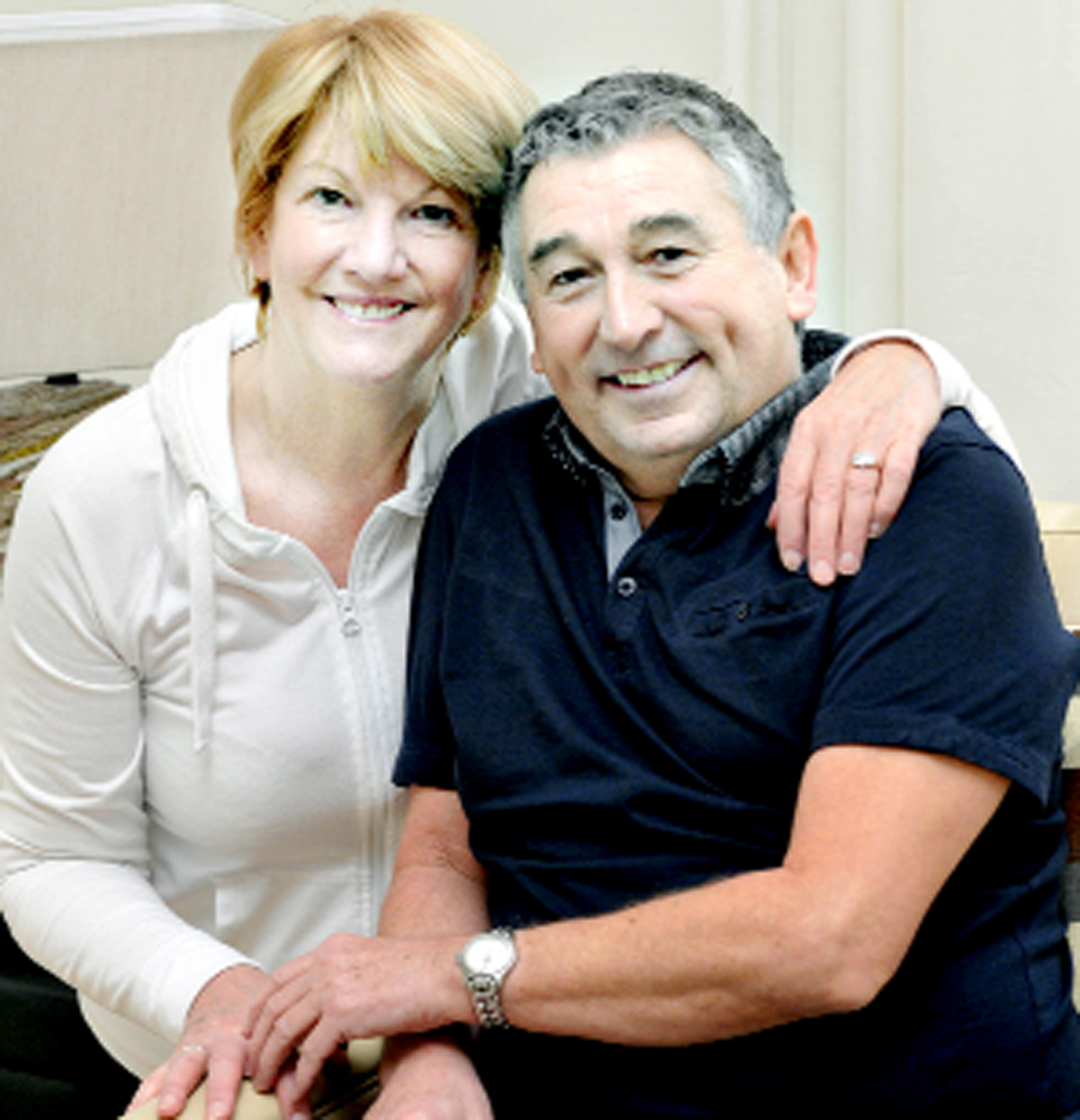 Ian Britton and his bride-to-be Eileen Bayliss