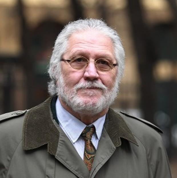 Burnley and Pendle Citizen: Dave Lee Travis arrives at Southwark Crown Court in London