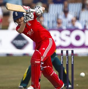 Charlotte Edwards led England to victory