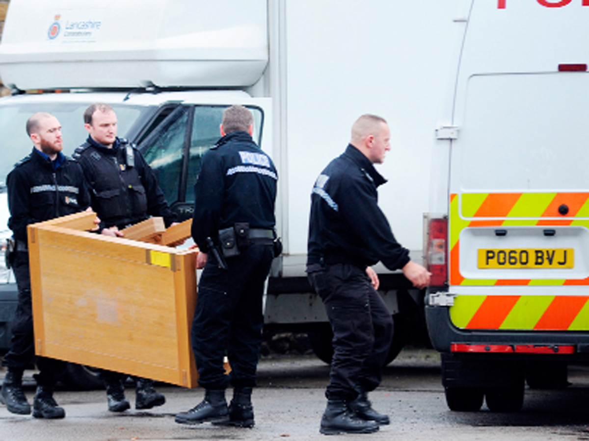 Four men in court following East Lancashire drugs raids