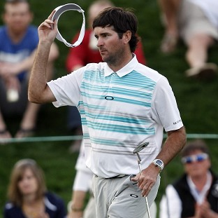 Bubba Watson shares the lead with YE Yang in Phoenix (AP)