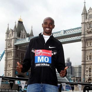 Burnley and Pendle Citizen: Mo Farah is readying himself for April's London Marathon