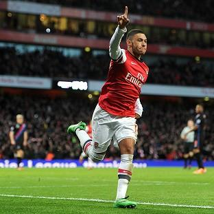 Burnley and Pendle Citizen: Alex Oxlade-Chamberlain scored twice for Arsenal