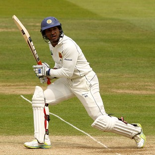 Kumar Sangakkara hit 19 fours and three sixes in his unbeaten knock of 160