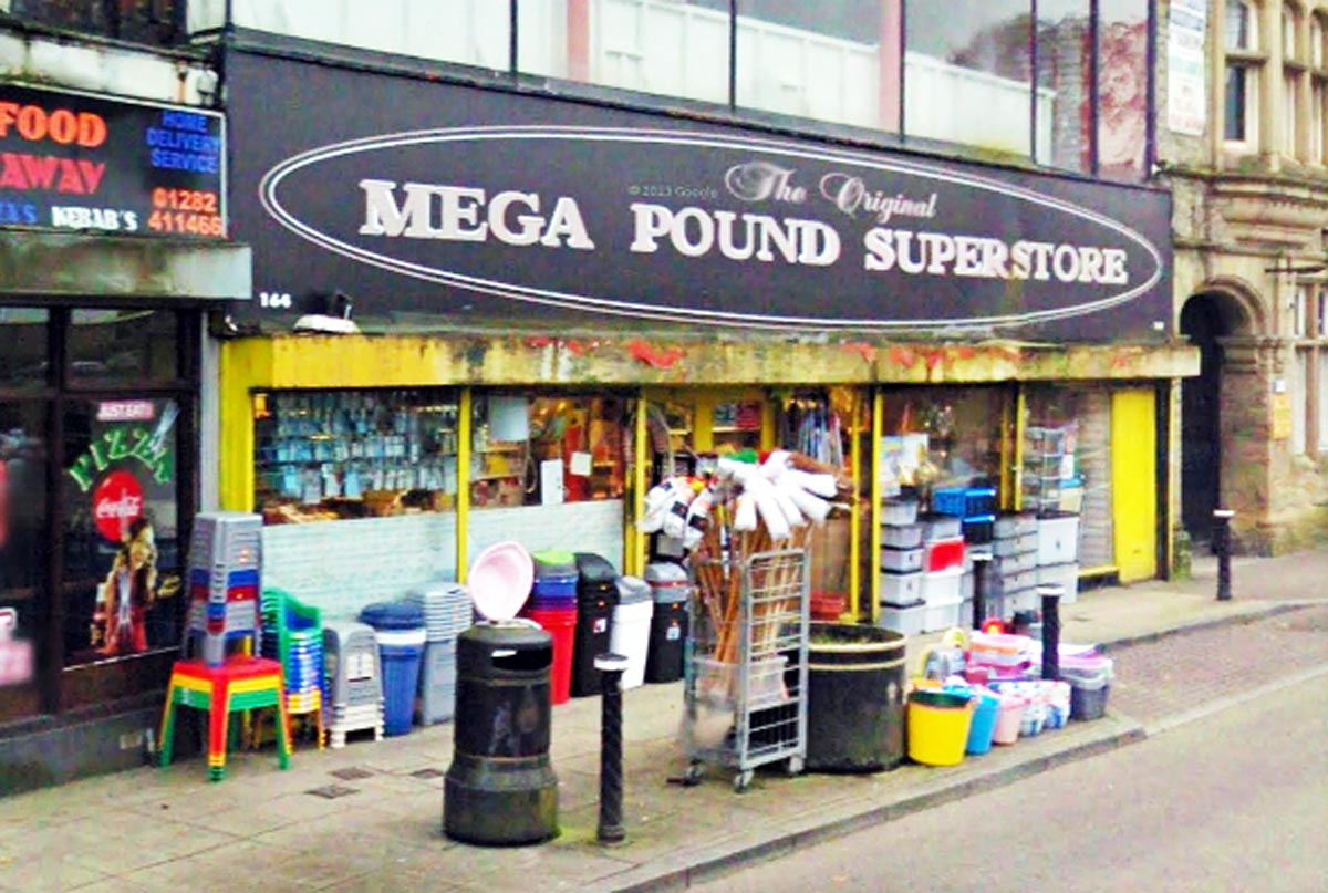 The Mega Pound Superstore premises is to be sold