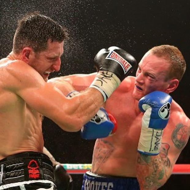 Burnley and Pendle Citizen: George Groves, right, and Carl Froch are in talks over a rematch
