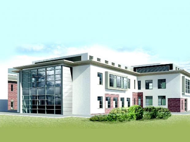 Burnley and Pendle Citizen: An artist's impression how the surgical unit will look