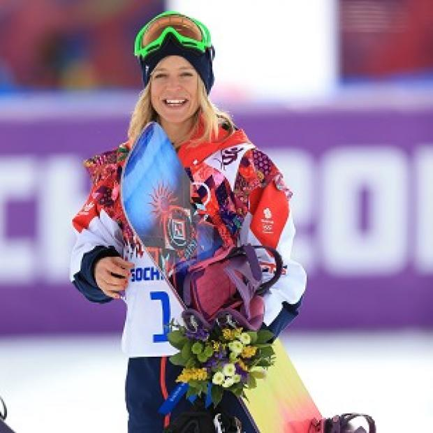 Burnley and Pendle Citizen: Jenny Jones claimed bronze in the women's snowboard slopestyle